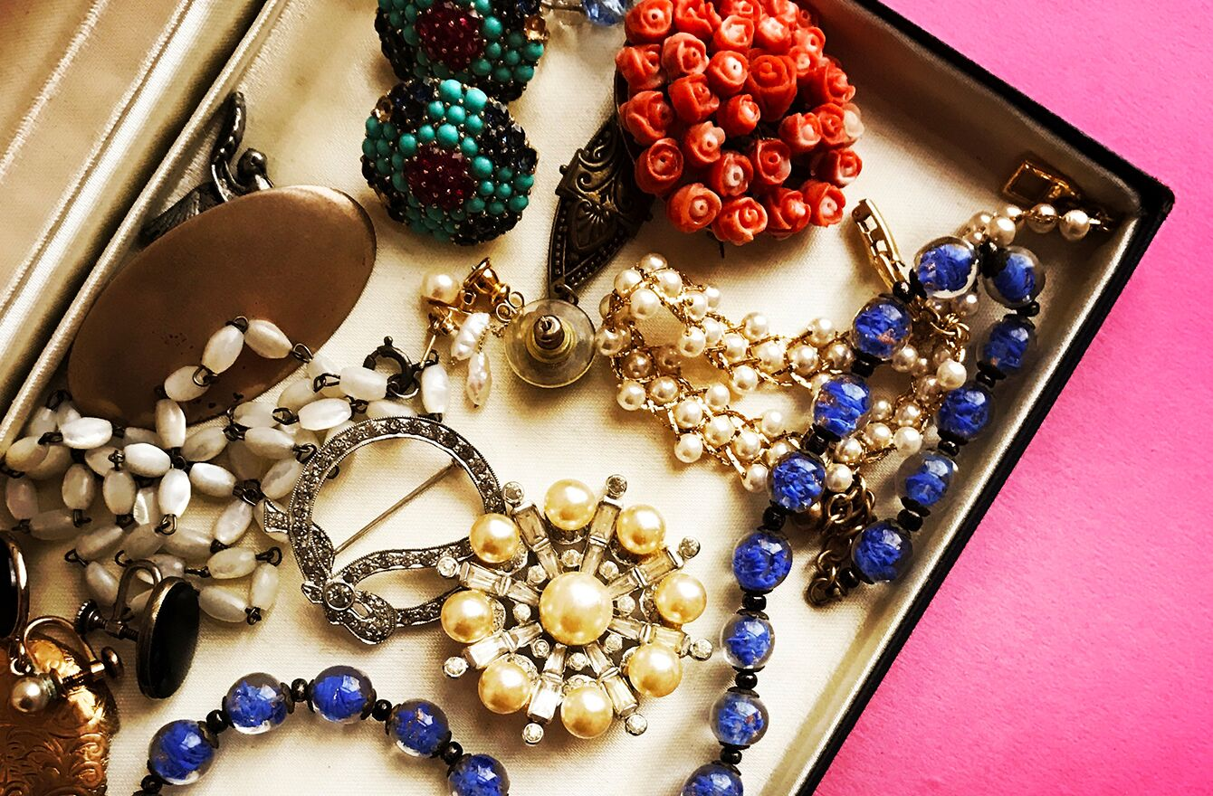 Vintage Jewelry Components