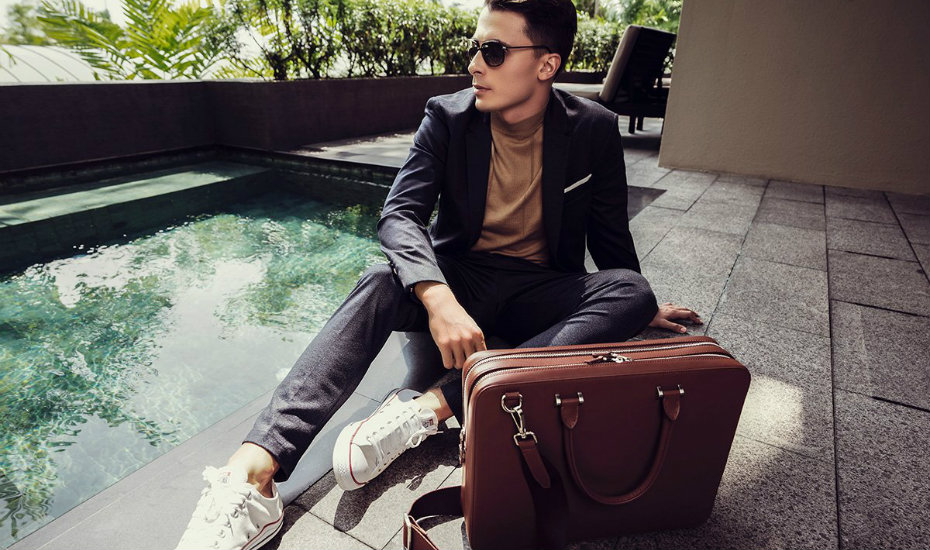 Best leather briefcase Singapore